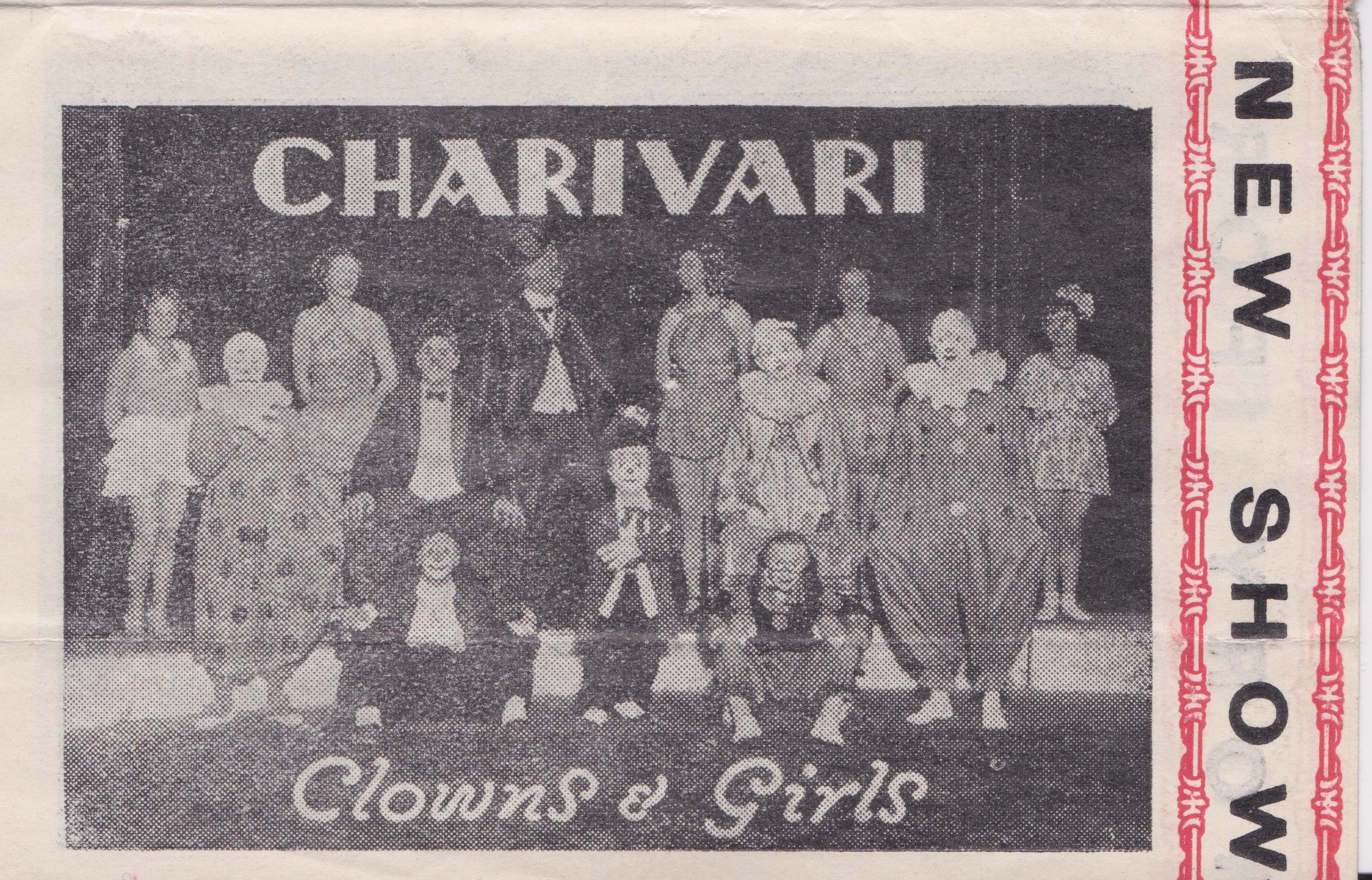 Gigantic Circus Charivari Clowns & Girls 28 January