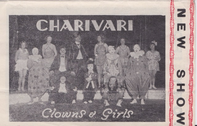 Gigantic Circus Charivari Clowns & Girls 28 January