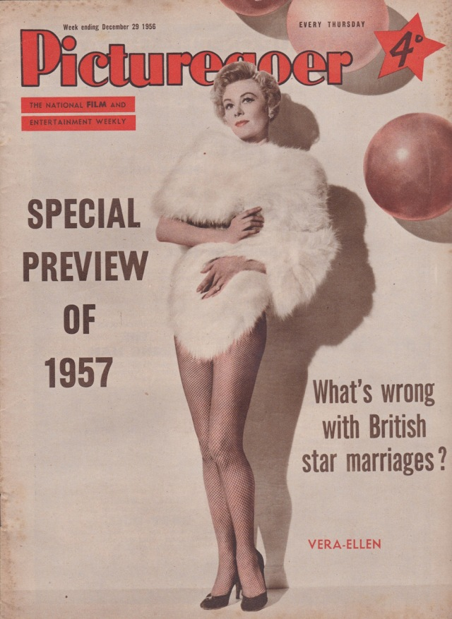 Picturegoer December 29 1957 Vera-Ellen cover