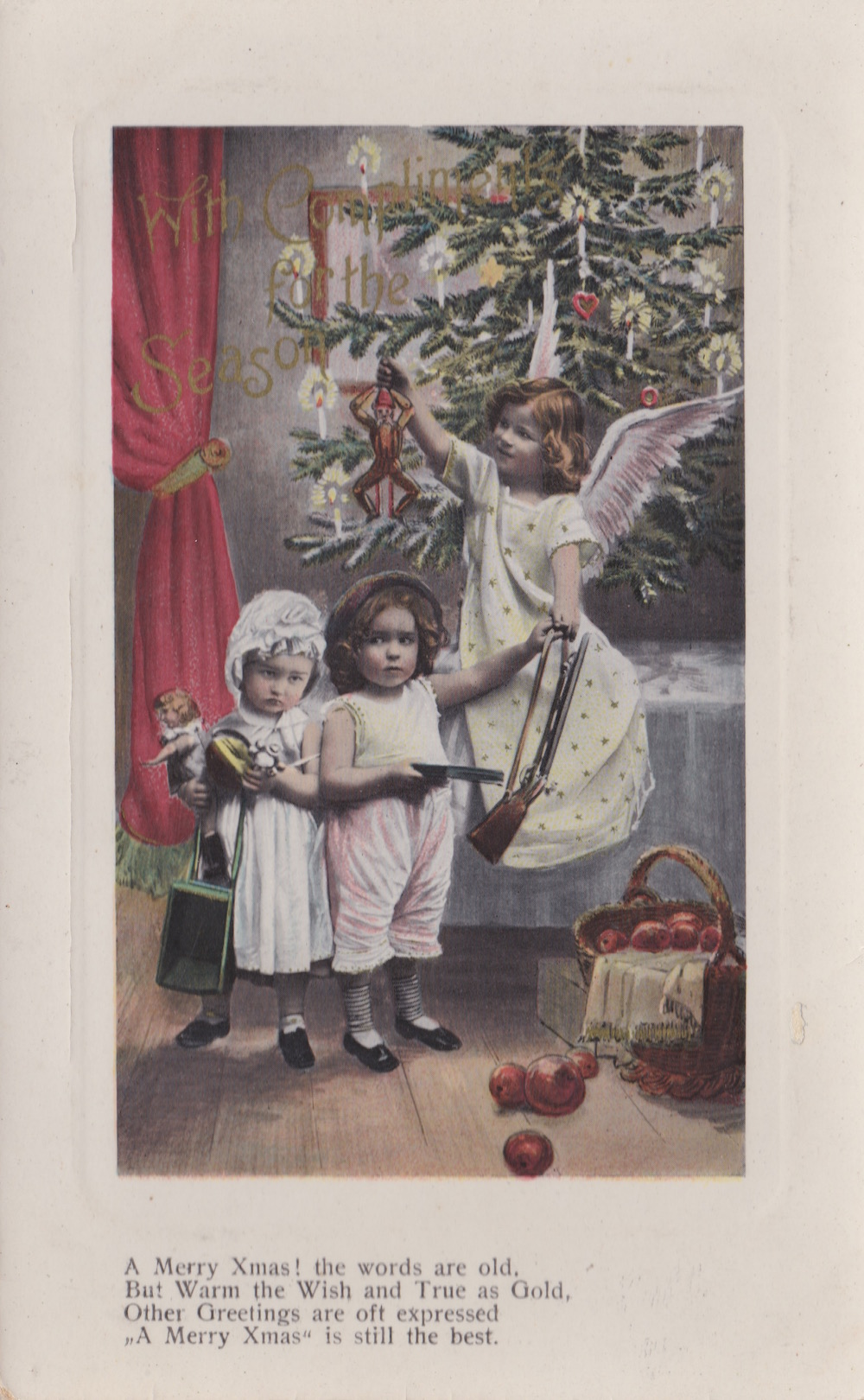 Unmarked and undated postcard printed in Saxony