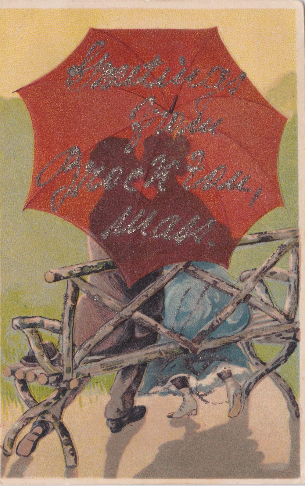 Unmarked Postale Postkarte